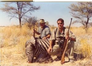 Planinska zebra, odstreljen kalibrom 30-06, Crvena zastava, i metak PPU 11,7 gr