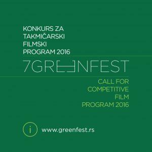ilustracija filmski konkurs Green Fest